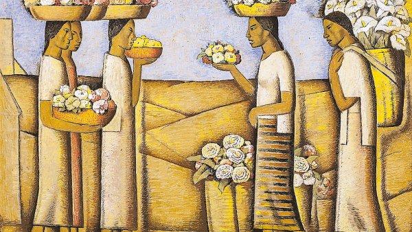 Alfred Ramos Martinéz: Flores Tropicales, vydraženo za 4,45 milionu korun