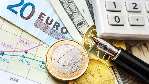 Po ukončení intervencí ČNB koruna posílila za posledních 24 hodin o 1,5 procenta - Ilustrační foto.