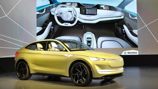 Prototyp elektromobilu Škoda Vision E.