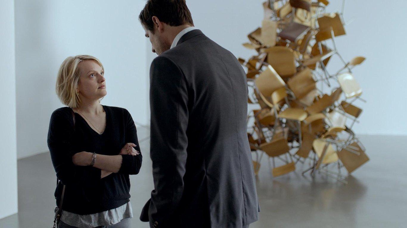 Snímek z vítězného švédského filmu The Square.