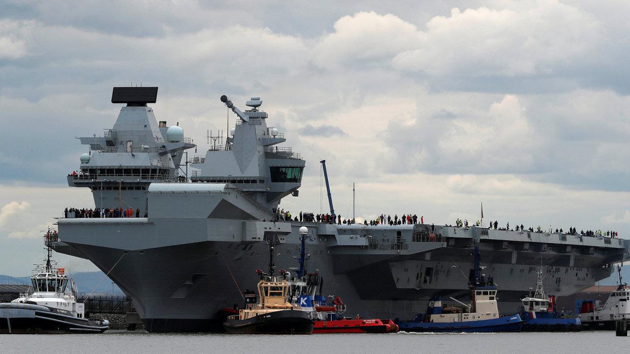 Letadlová loď Queen Elizabeth