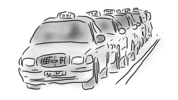 Vláda chce sblížit pravidla pro Uber a taxislužby - Ilustrační foto.