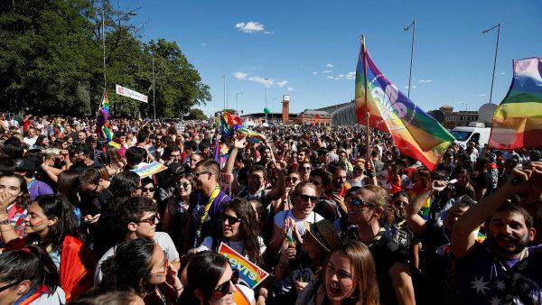 Pochod hrdosti LGBT komunity