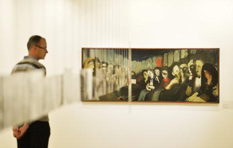 Snímek z výstavy Západočeské galerie v Plzni.