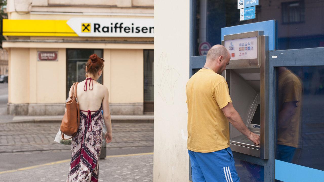 Raiffeisenbank, ČSOB, ilustrační fotografie