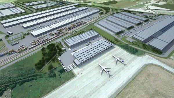 Multimodální logistické centrum vyroste hned vedle Letiště Leoše Janáčka Ostrava.