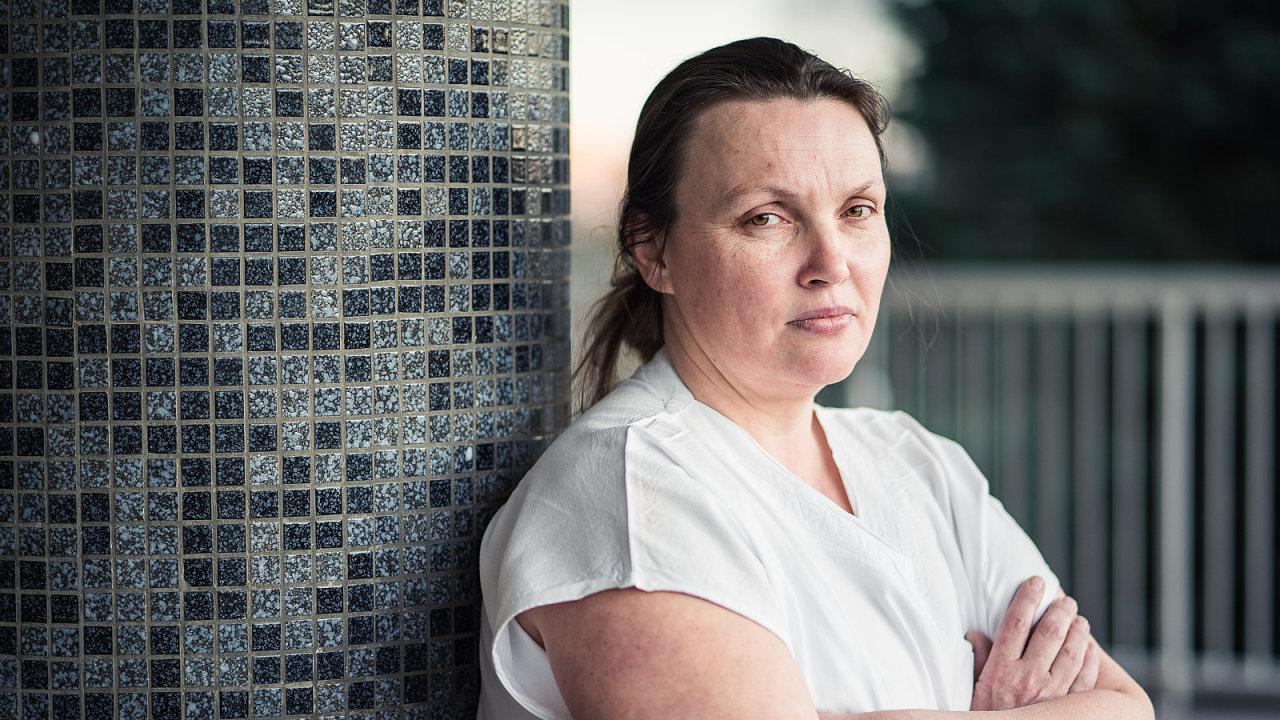 Zdravotní sestra Pavla Medková