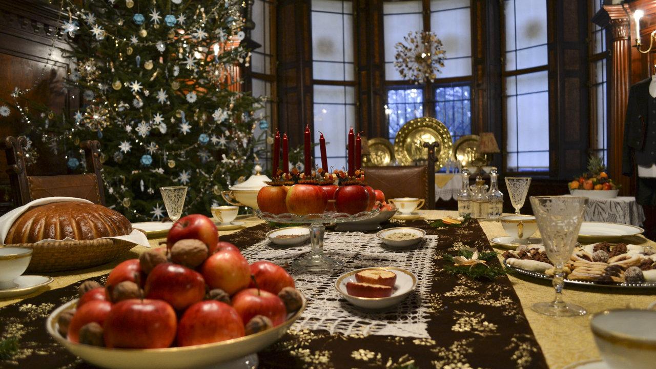 Vánoce na zámku v Hrádku u Nechanic