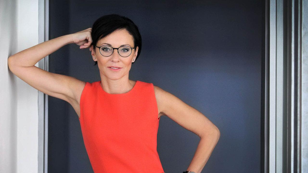 Libuše Šmuclerová, předsedkyně představenstva a generální ředitelka Czech News Center.