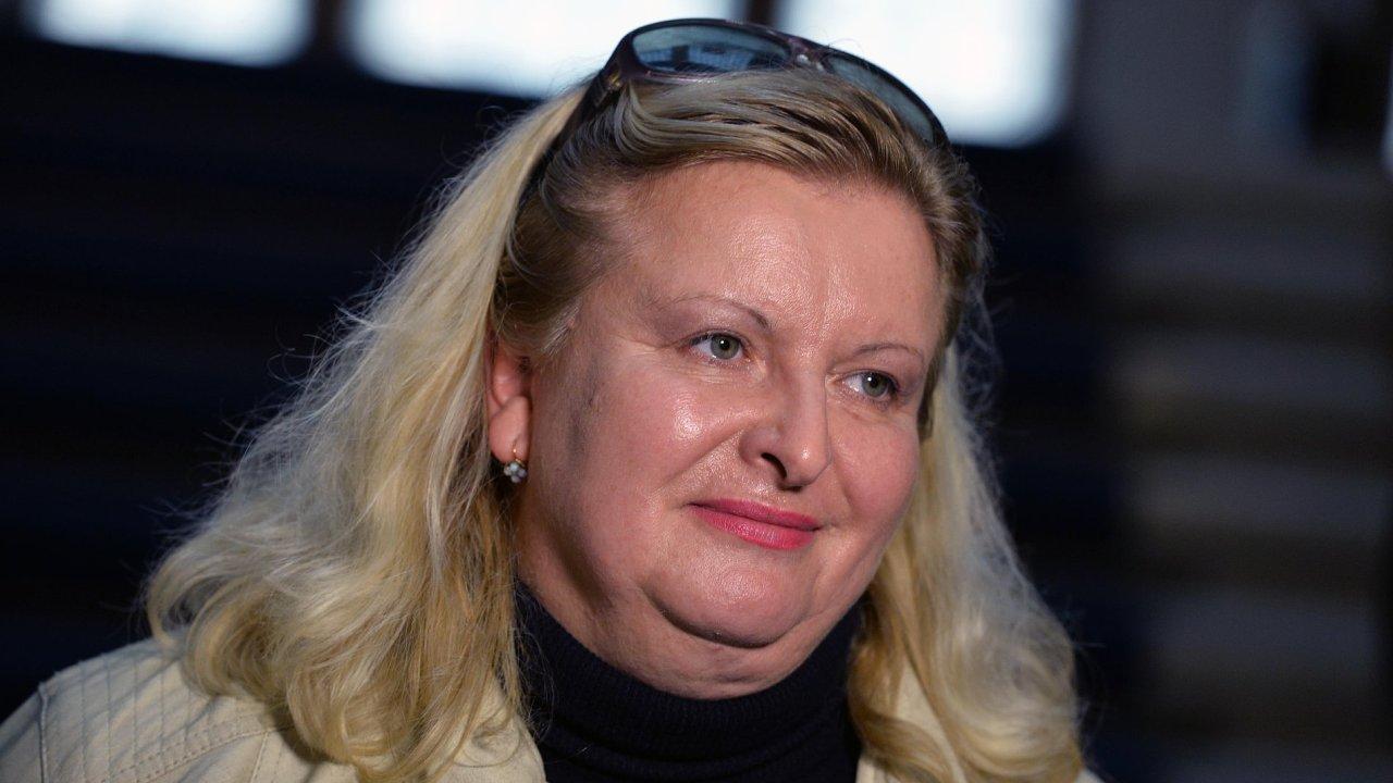 Odvolaná ředitelka Nemocnice Na Bulovce Andrea Vrbovská.