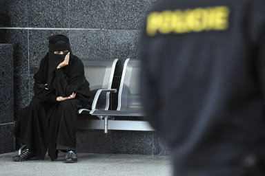 Nikáb nosí ženy hlavně v oblasti okolo Perského zálivu.