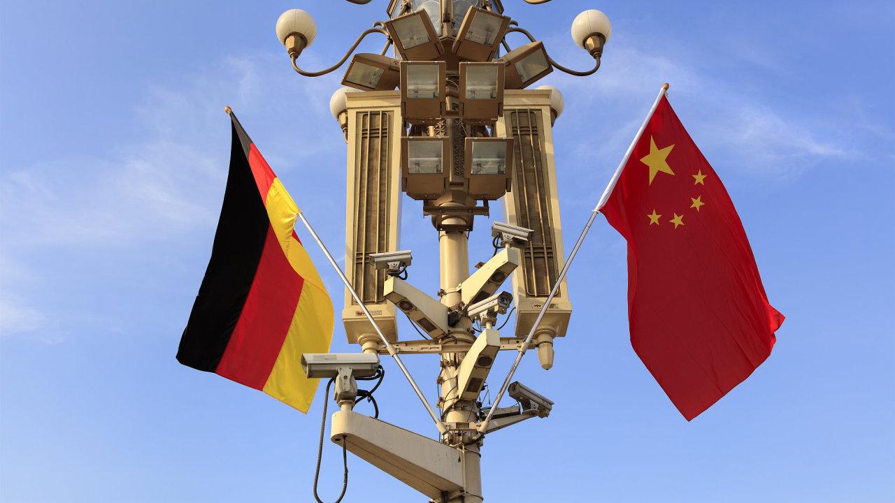 Německo se obává, že některé z jeho nejmodernějších technologií končí v čínských rukou.