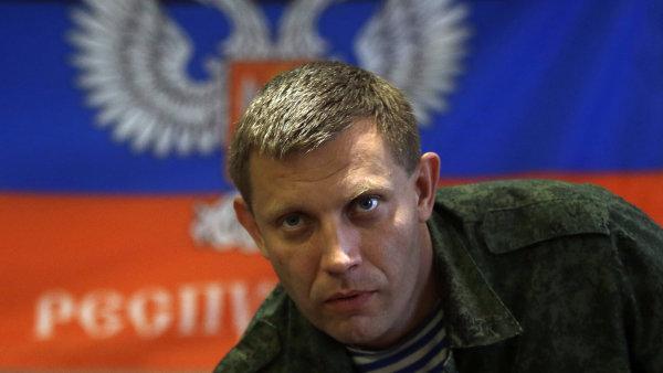 Alexandr Zacharčenko, jeden z hlavních vůdců proruských separatistů, zemřel při výbuchu v Doněcku na východě Ukrajiny.