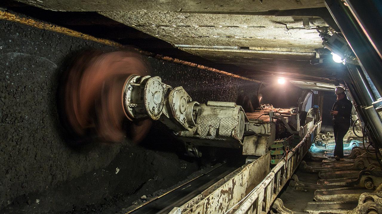 Polský uhelný důl Ruda Slaska - ilustrační foto