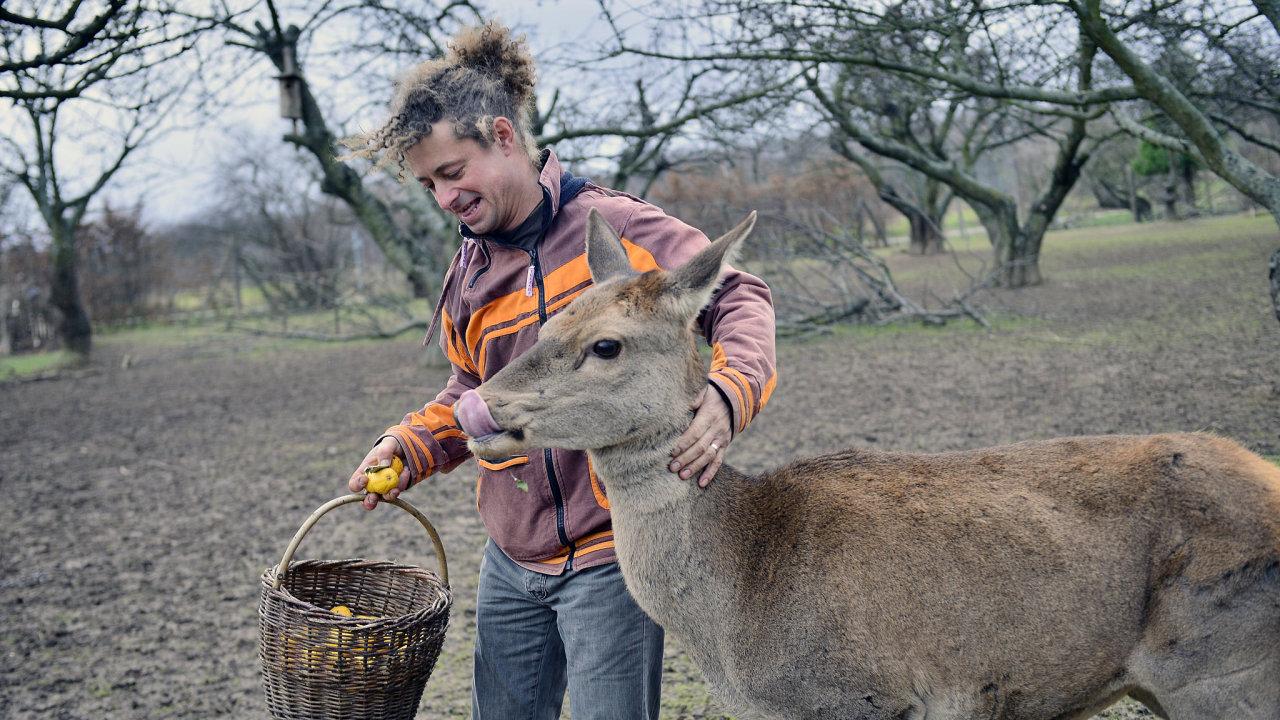 Farmář Radim Kotrba z Miskovic