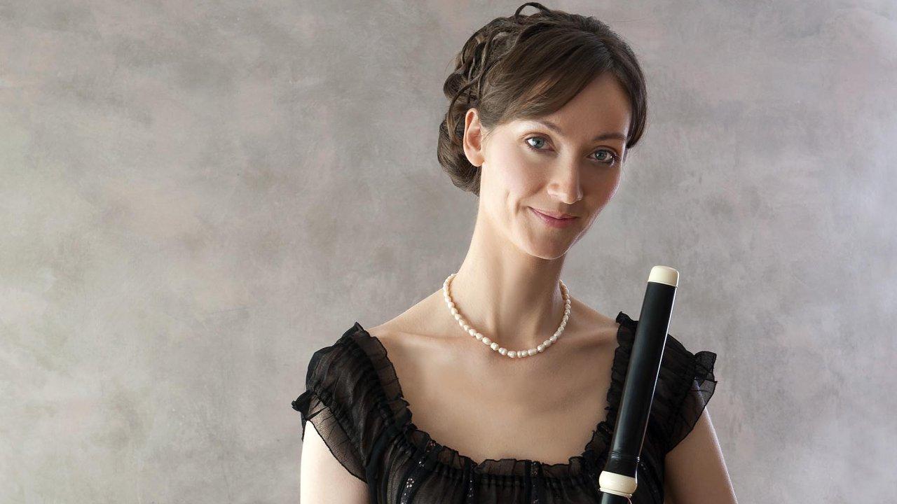 Flétnistka a umělecká vedoucí souboru Collegium Marianum Jana Semerádová