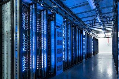Datové centrum - ilustrační obrázek