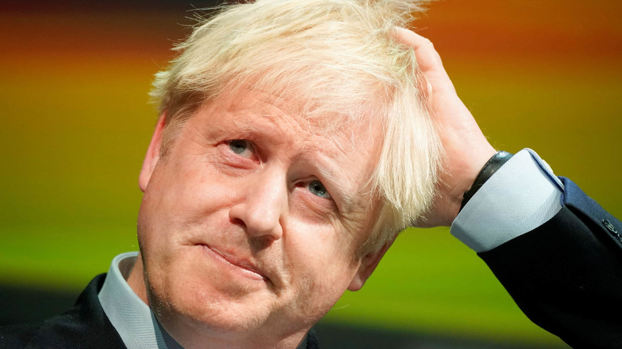Premiér Boris Johnson.