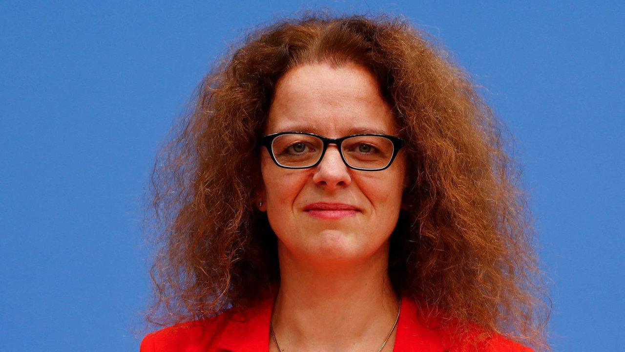 Ruce pryč odECB: Isabel Schnabelové vadí agresivní kritika Evropské centrální banky vNěmecku.
