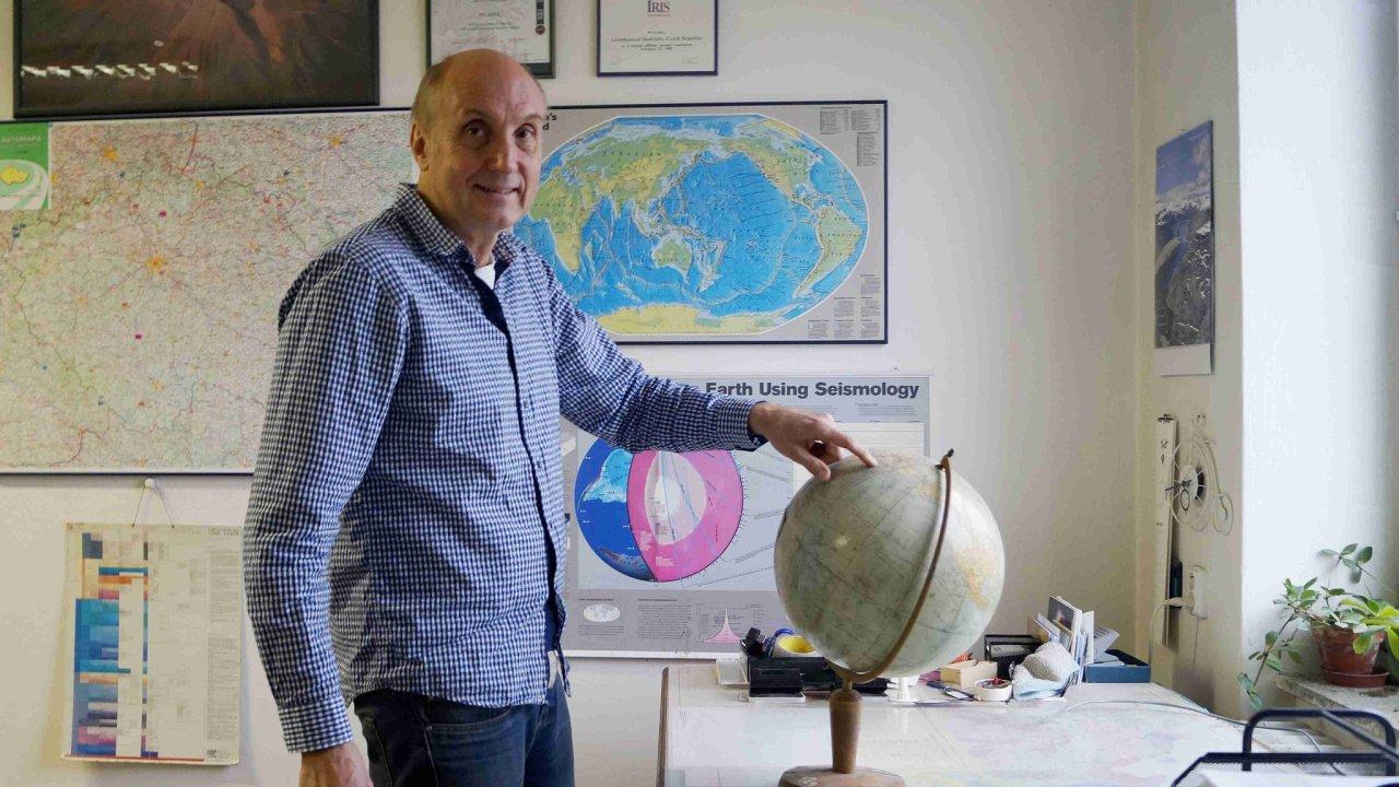 Jan Zednik seismolog foto GFU