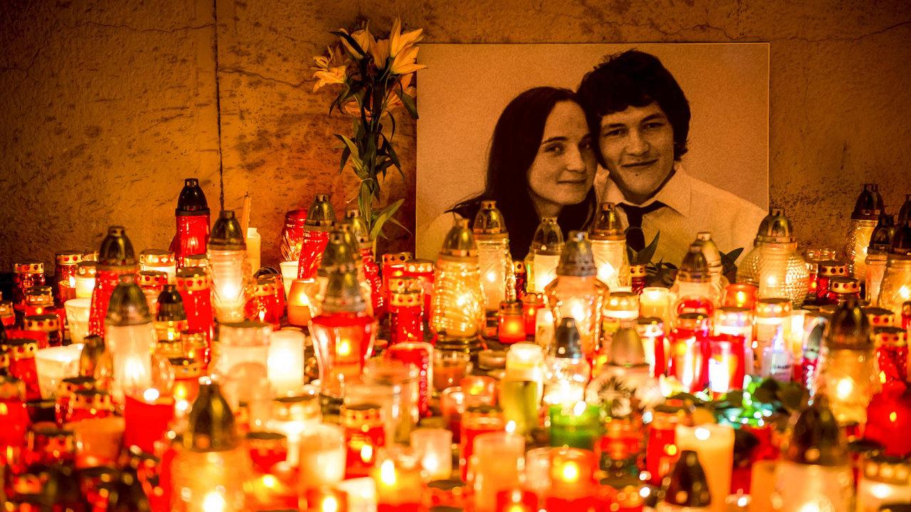 Martina Kušnírová aJánKuciak byli zastřeleni 21.února 2018.