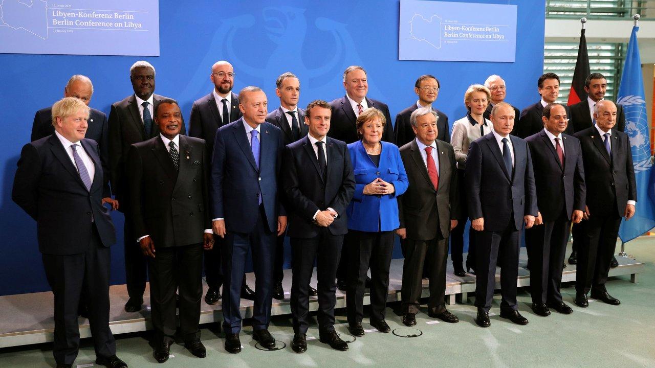 konference o Libyi v Berlíně