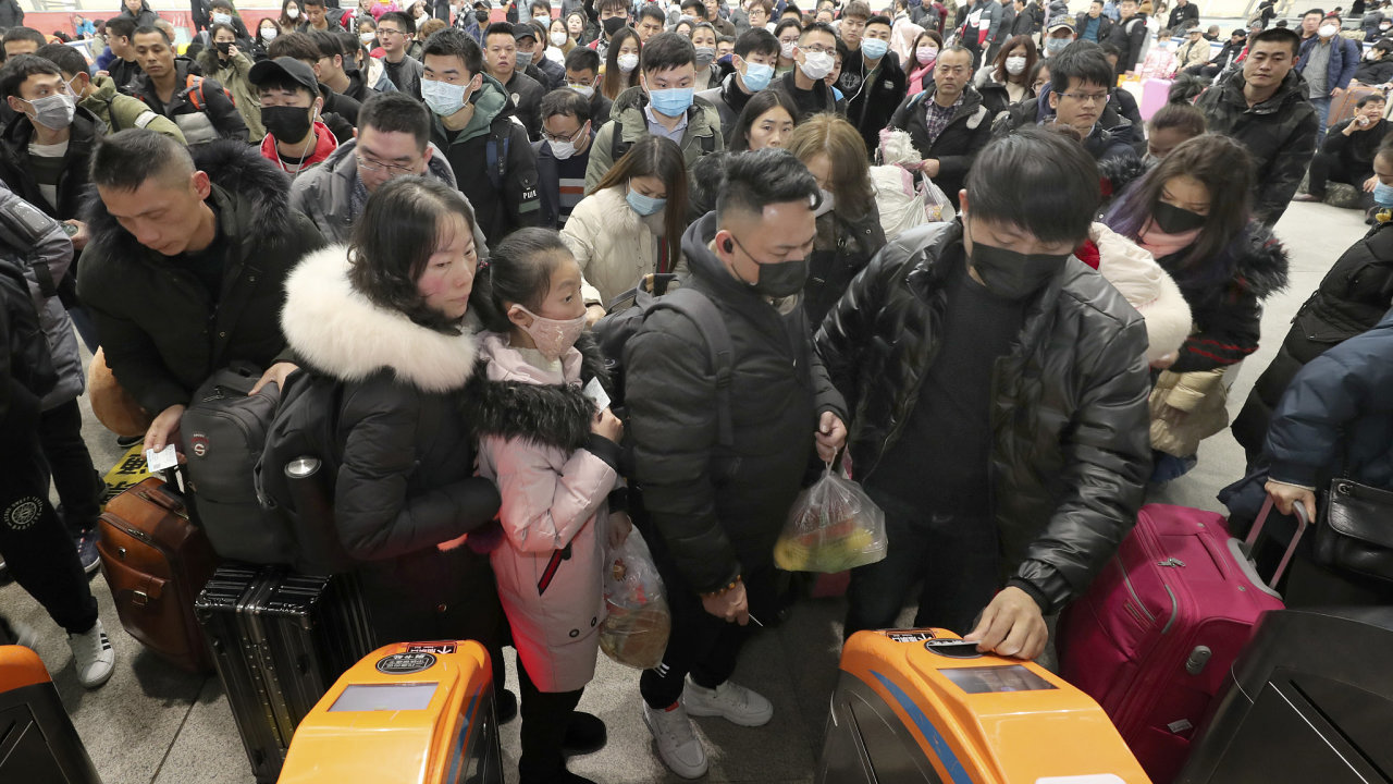 Koronavirus, Čína