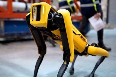 Robot získal pozici zaměstnance na ropné plošině.