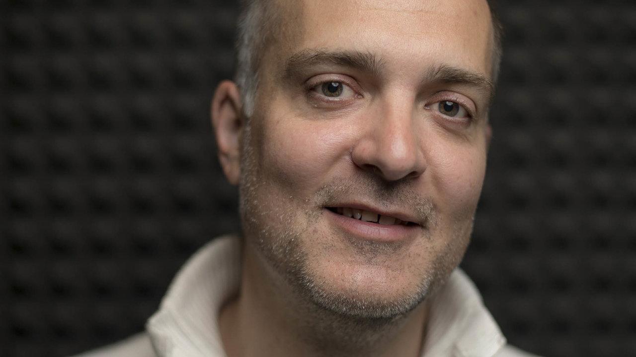 Petr Kasa, zakladatel jednoho zprvních českých e-shopů Kasa.cz