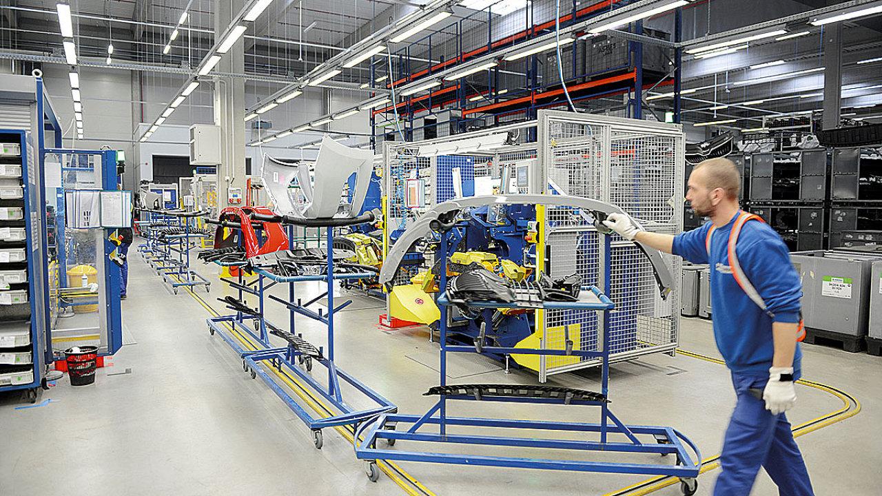 Přenesením posledního kroku výroby na poskytovatele logistiky dodavatel eliminoval riziko zpoždění.