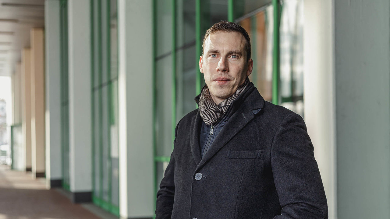 Jednatel obchodního řetězce Globus v Česku Jan Navrátil.