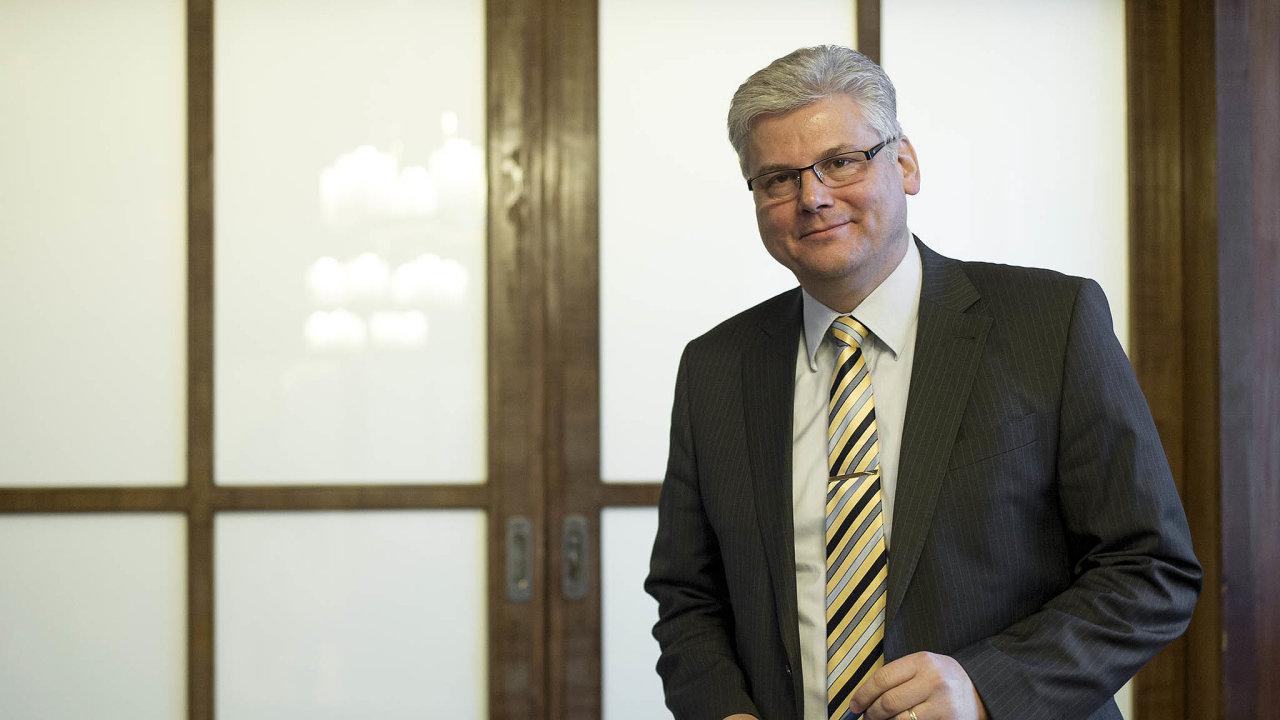 Ředitel Fakultní nemocnice vMotole Miloslav Ludvík