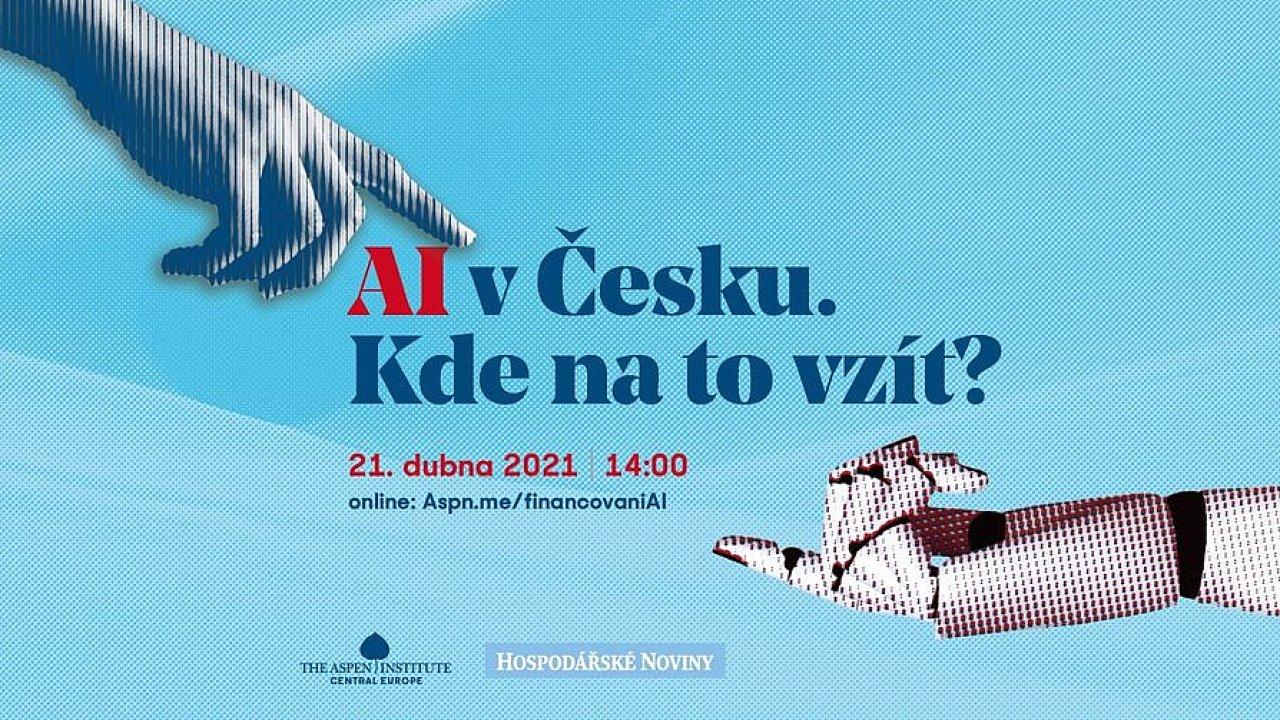 Diskuse o AI se uskuteční on-line, je možné ji sledovat na iHNed.cz i na FB Události.