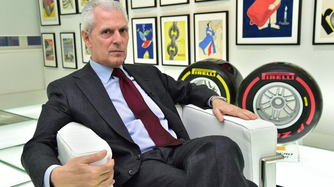 Pirelli, Marco Tronchetti Provera