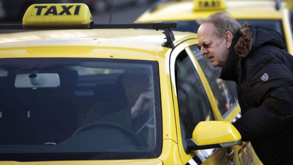 Pražská taxislužba, ilustrační foto
