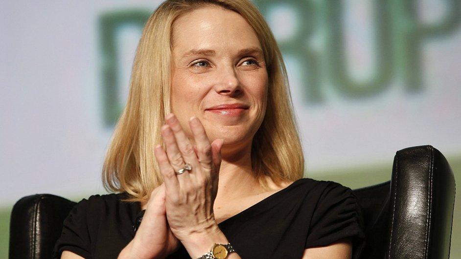 Nová šéfka Yahoo Marissa Mayerová má firmu vrátit zpět k růstu