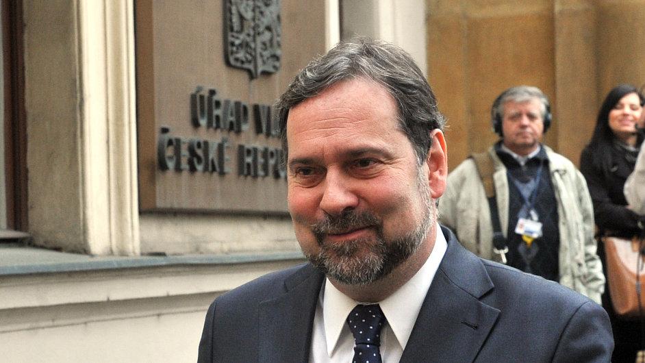 Předseda VV Radek John.