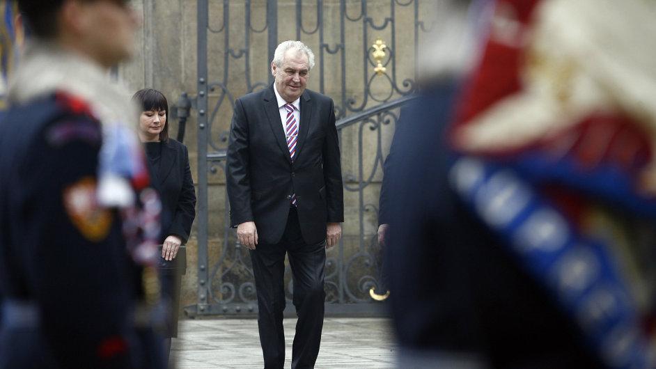 Miloš Zeman a jeho žena Ivana