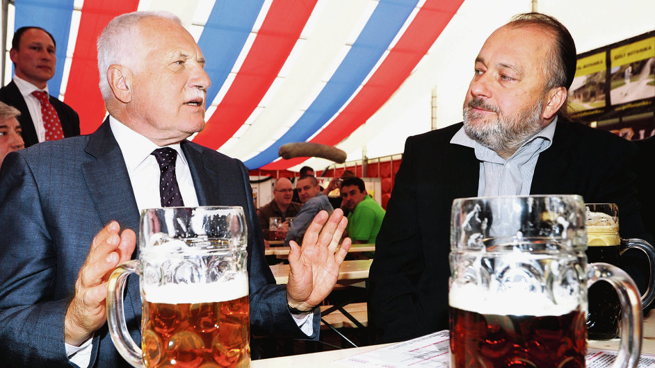 Václav Klaus a Ladislav Jakl