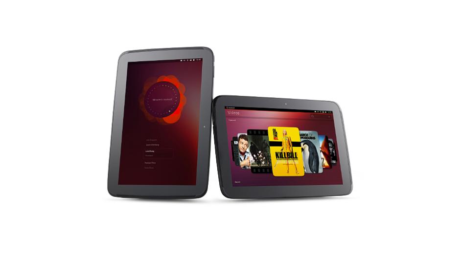 Operační systém Ubuntu na tabletu Nexus 10
