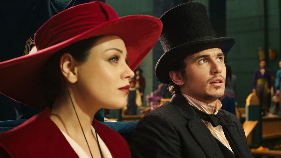 V mocného vládce Oze se ve filmu promění James Franco