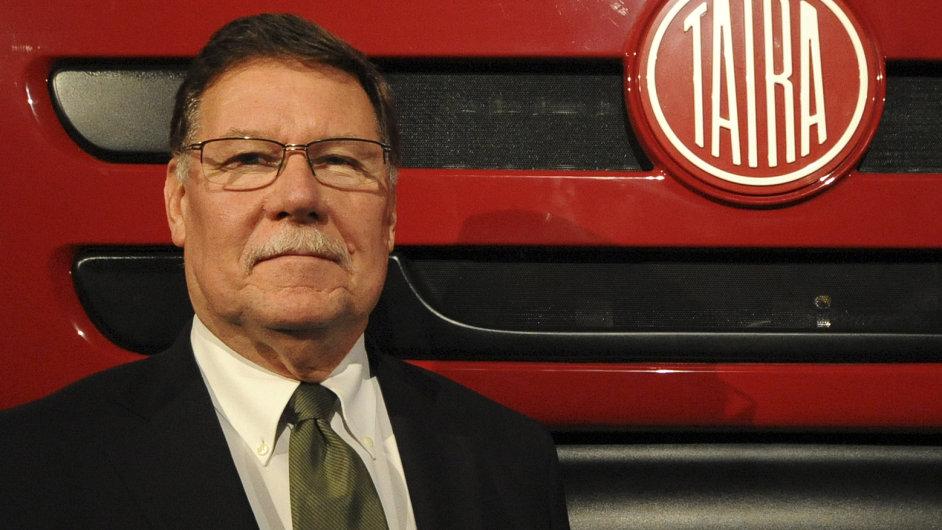 Ronald Adams, bývalý šéf české pobočky firmy Tatra
