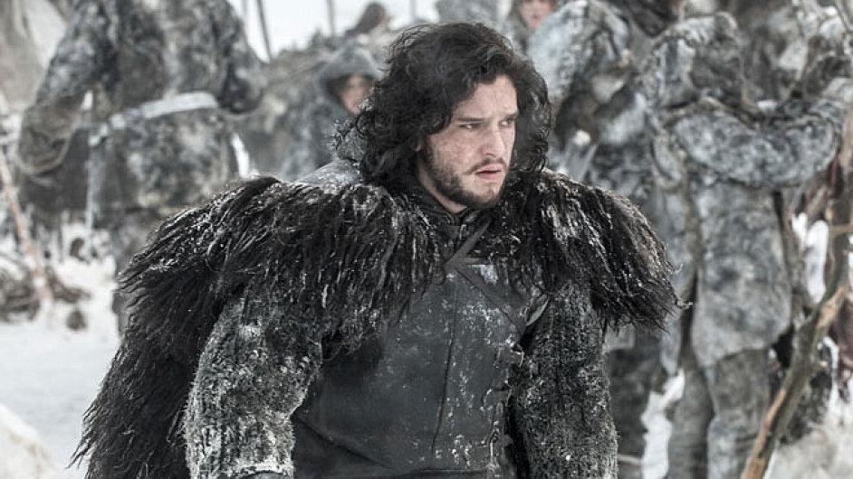 Jon Snow v podání Kita Haringtona