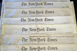 The New York Times obituaries – interesting data source for a study