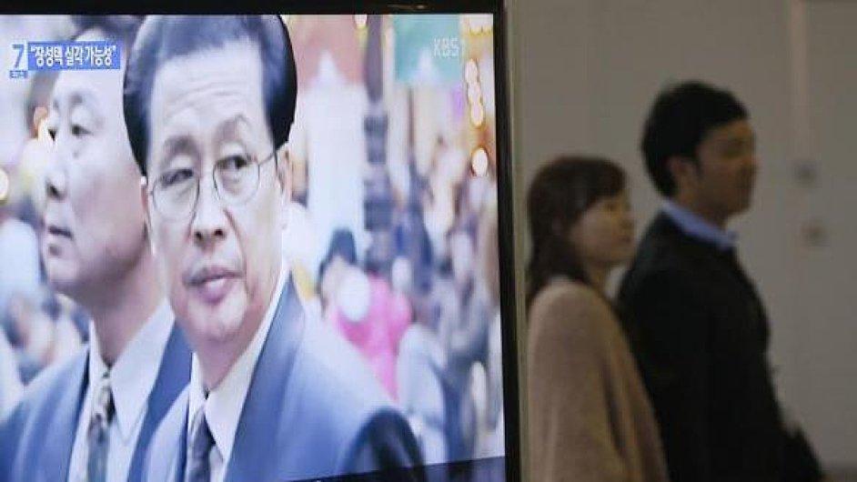 Strýc vůdce KLDR Kim Čong-una, Čang Song-tchek