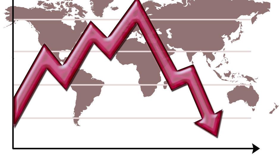 Světová ekonomická krize - ilustrační foto