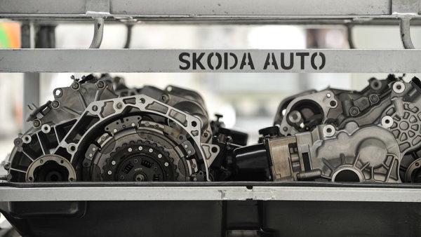 Takhle vypadají převodovky, které se vyrábějí ve vrchlabském závodu Škody Auto.