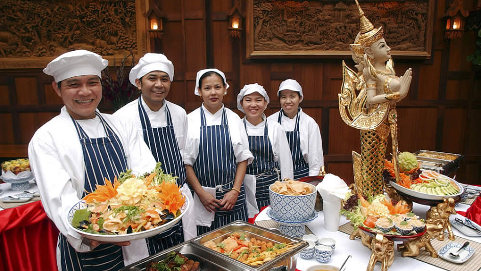 Je tohle skutečně thajská kuchyně? Robot to pozná.