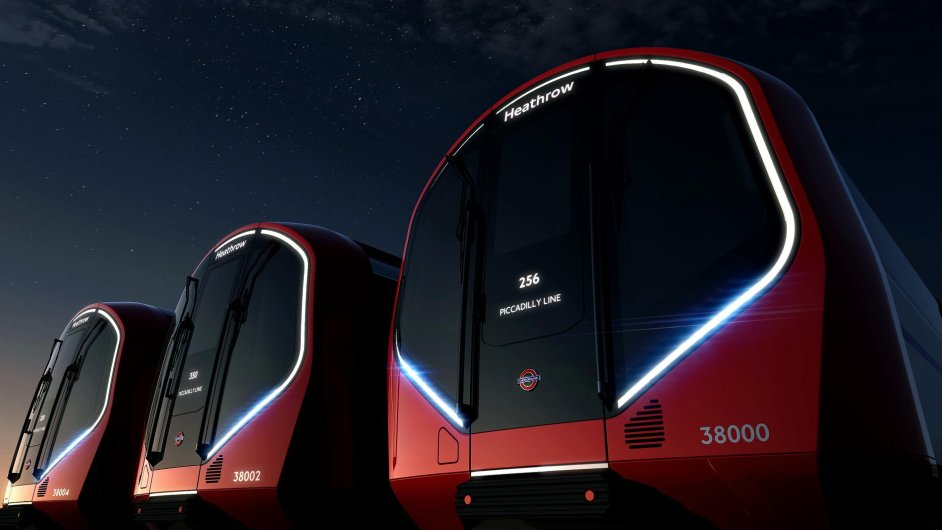 Vizualizace nového londýnského metra