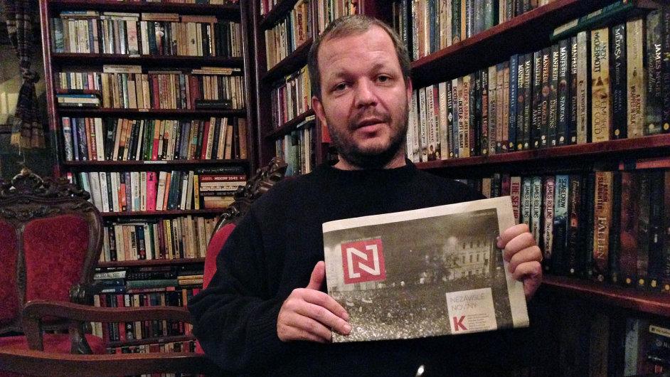 Dobrodruh, nebo realista? Matúš Kostolný opustil post šéfredaktora SME a zakládá nový deník.